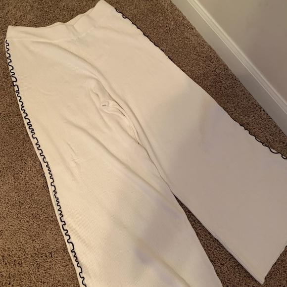 Zara Pants - Zara knit pants with black detail